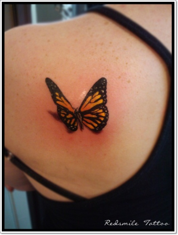 088 @ Butterfly Tattoos July