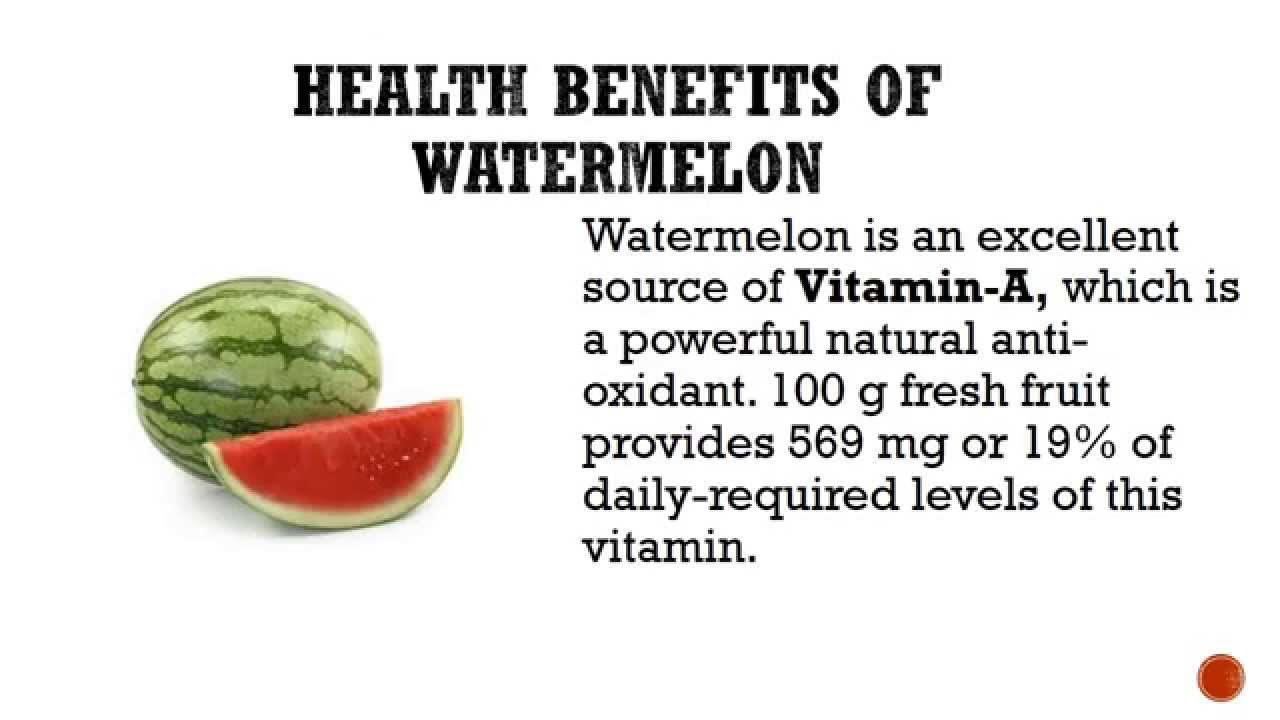 09 @ Health Benefits Of Watermelon