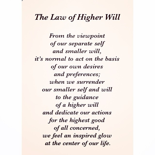 09 Universal Laws About Higherwill