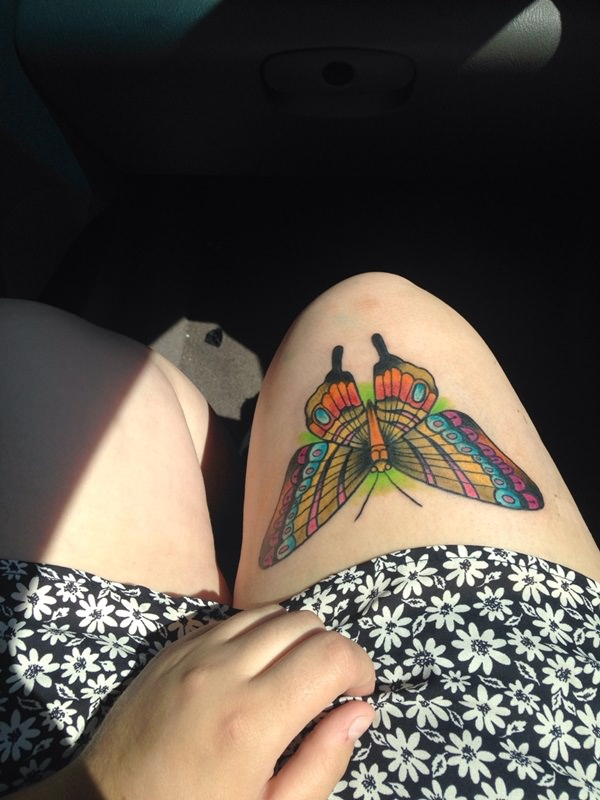 093 @ Butterfly Tattoos February