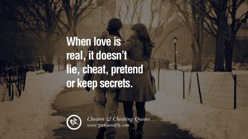 098 @ Cheating Quotes