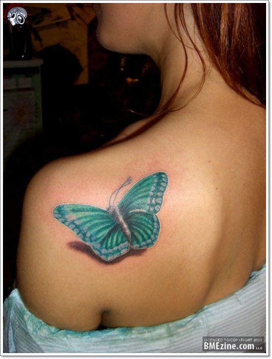 099 @ Butterfly Tattoos Tuesday