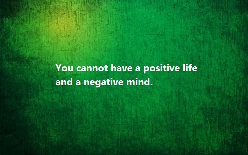 1 @ Negative Lines With Positive Meanings