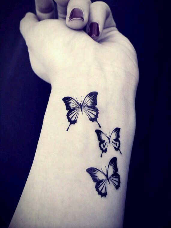 10 @ Butterfly Tattoo