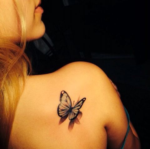10 @ Butterfly Tattoos