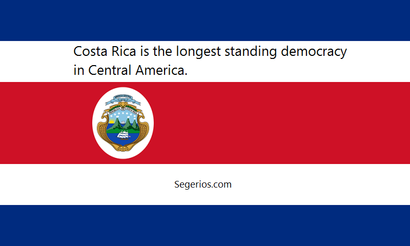 10 @ Costa Rica Facts