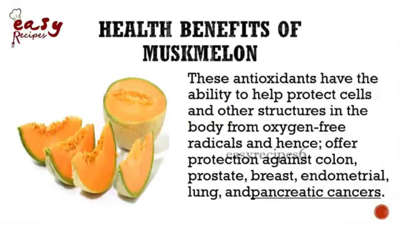 10 @ Health Benefits Of Cantaloupe
