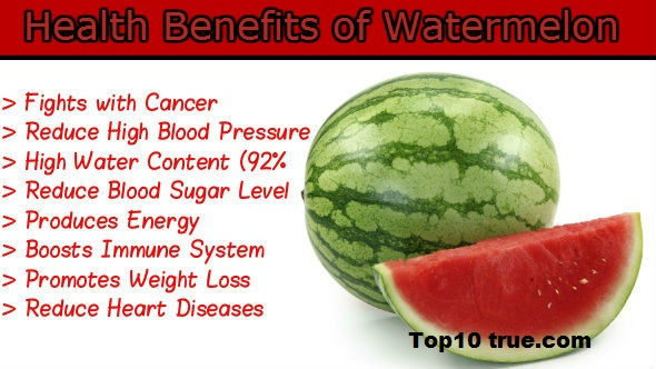 Vitamin in watermelon