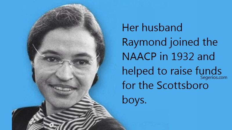 10 @ Rosa Parks Facts