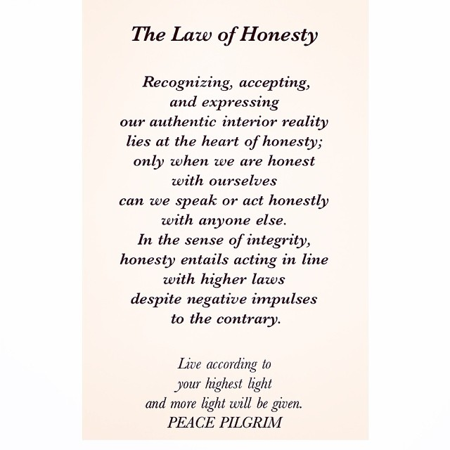 10 Universal Laws About Honesty
