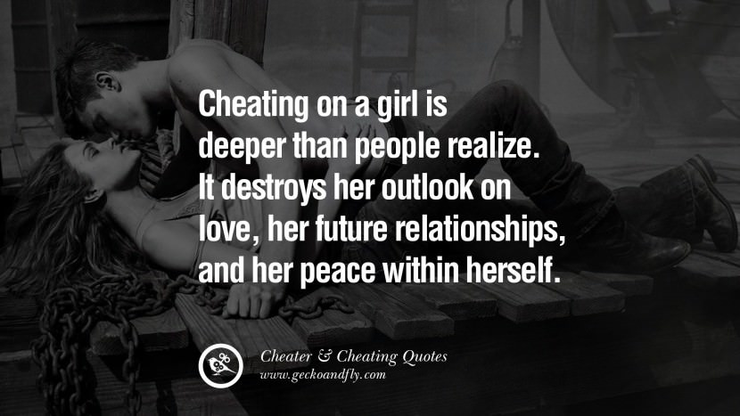 103 @ Cheating Quotes