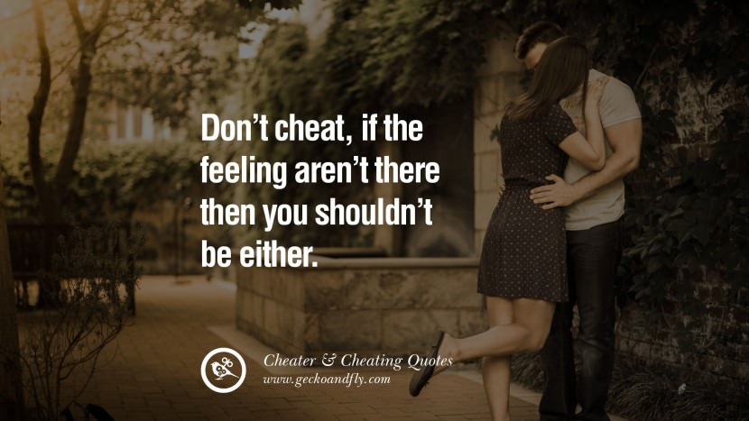 105 @ Cheating Quotes
