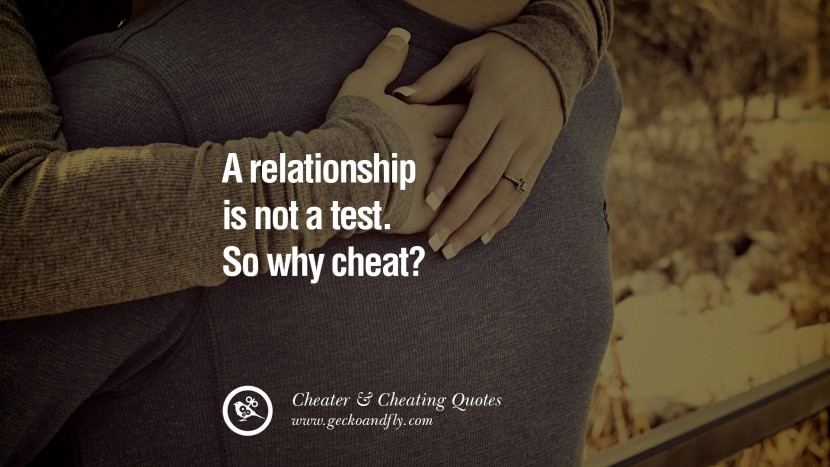 108 @ Cheating Quotes