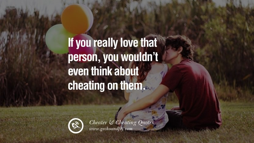 109 @ Cheating Quotes