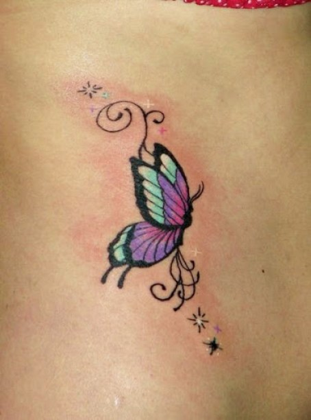 11 @ Butterfly Tattoo