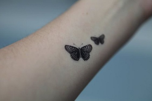 11 @ Butterfly Tattoos