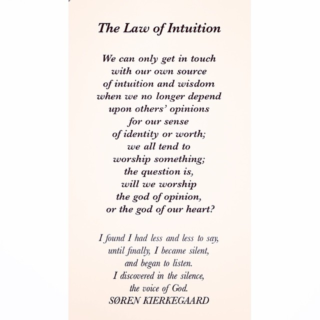 11 Universal Laws About Intuition
