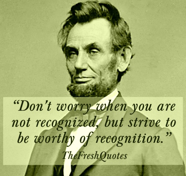 110 @ Abraham Lincoln Quotes and Quotations
