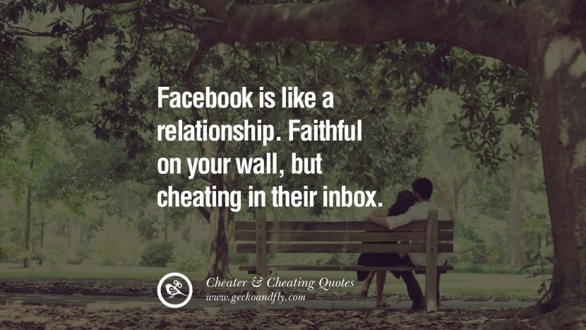 113 @ Cheating Quotes