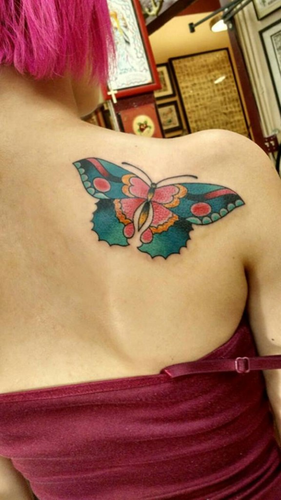 117 @ Butterfly Tattoos Wednesday