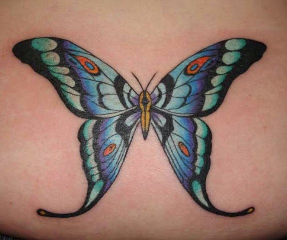12 @ Butterfly Tattoo