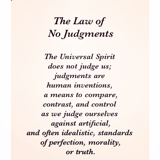 12 Universal Laws About Judgements