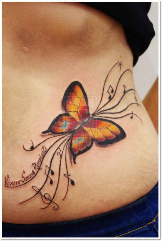 120 @ Butterfly Tattoos Sunday