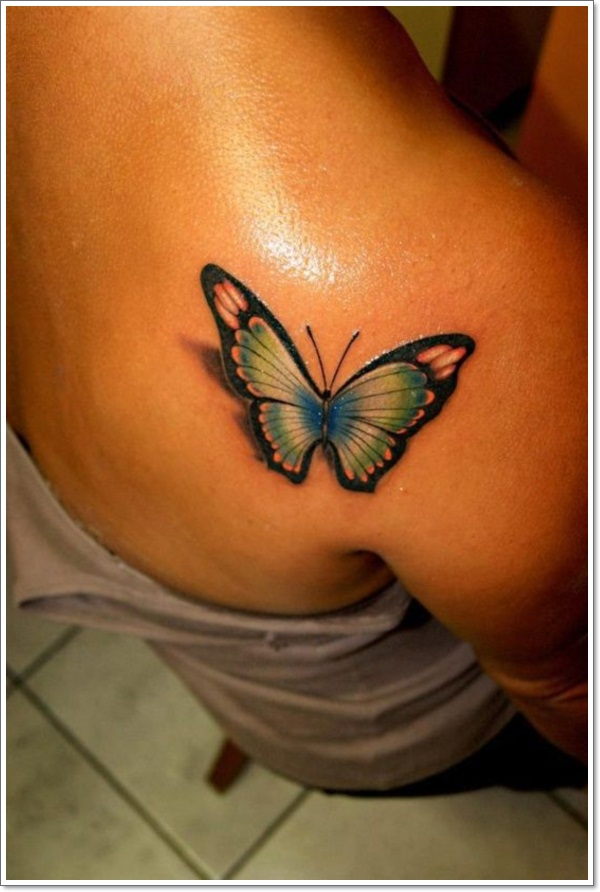 125 @ Butterfly Tattoos August