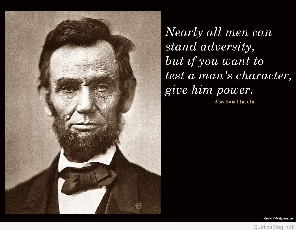 129 @ Abraham Lincoln Quotes Lottery