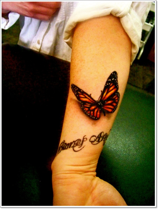 129 @ Butterfly Tattoos April