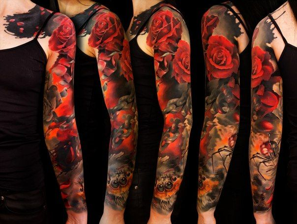 129 @ Rose Tattoos Snapdeal