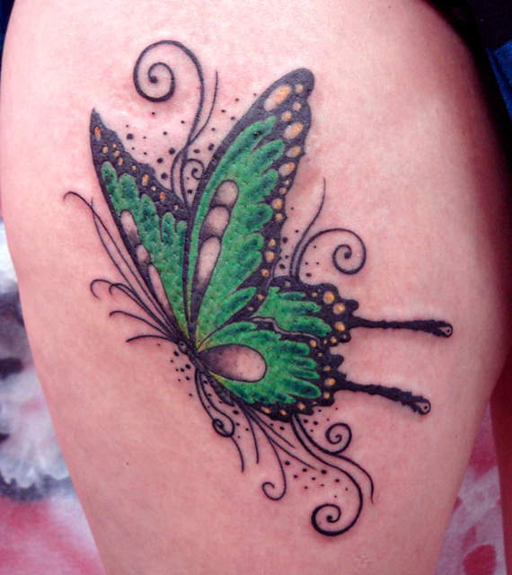 13 @ Butterfly Tattoo
