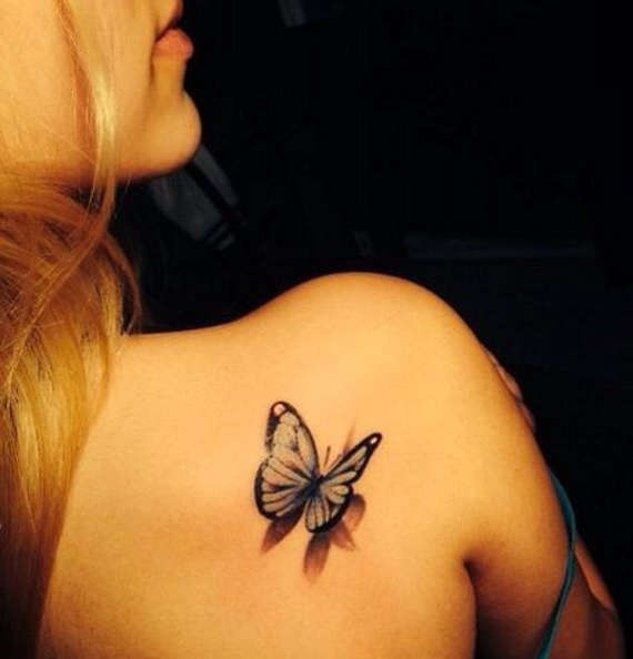 13 @ Butterfly Tattoos