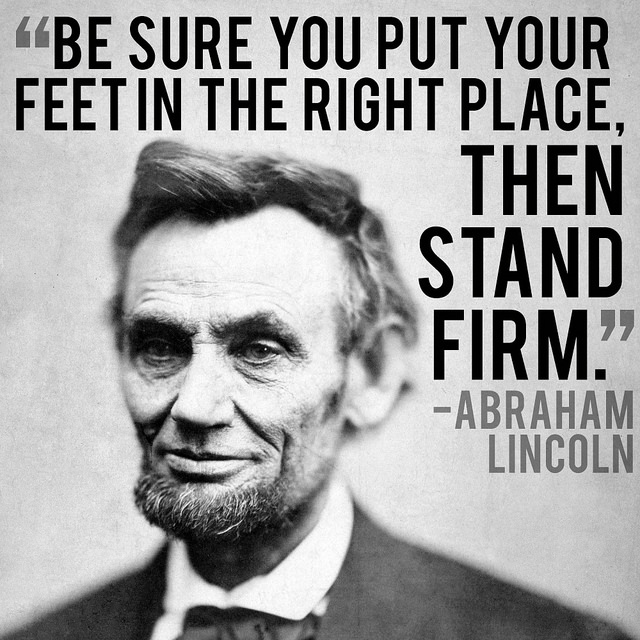 132 @ Abraham Lincoln Quotes Twitter