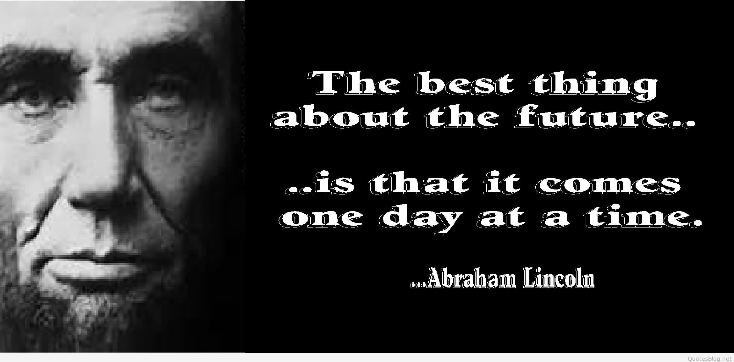 137 @ Abraham Lincoln Quotes Hot