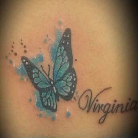 14 @ Butterfly Tattoos