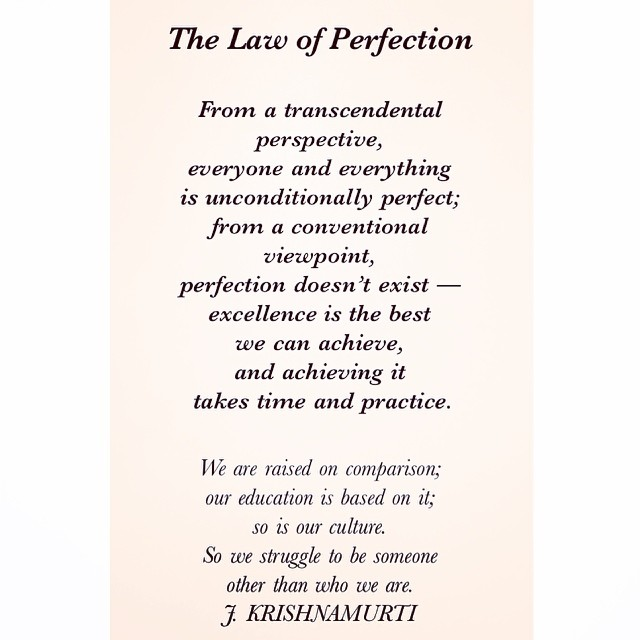 14 Universal Laws About Perfection