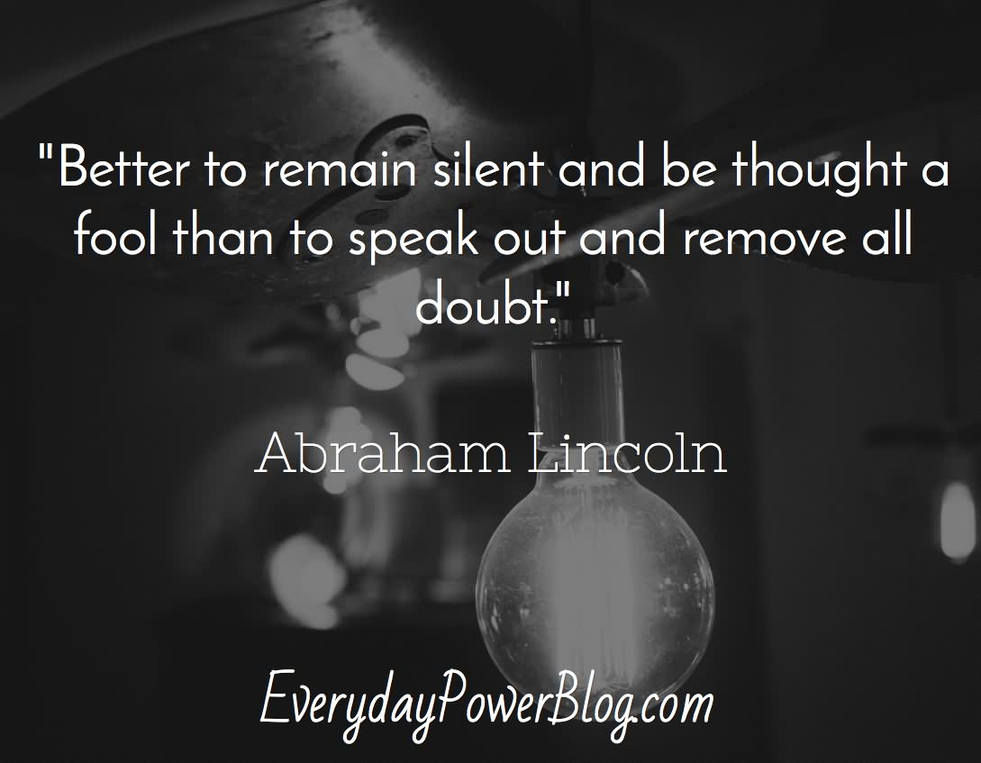 143 @ Abraham Lincon Quotes October