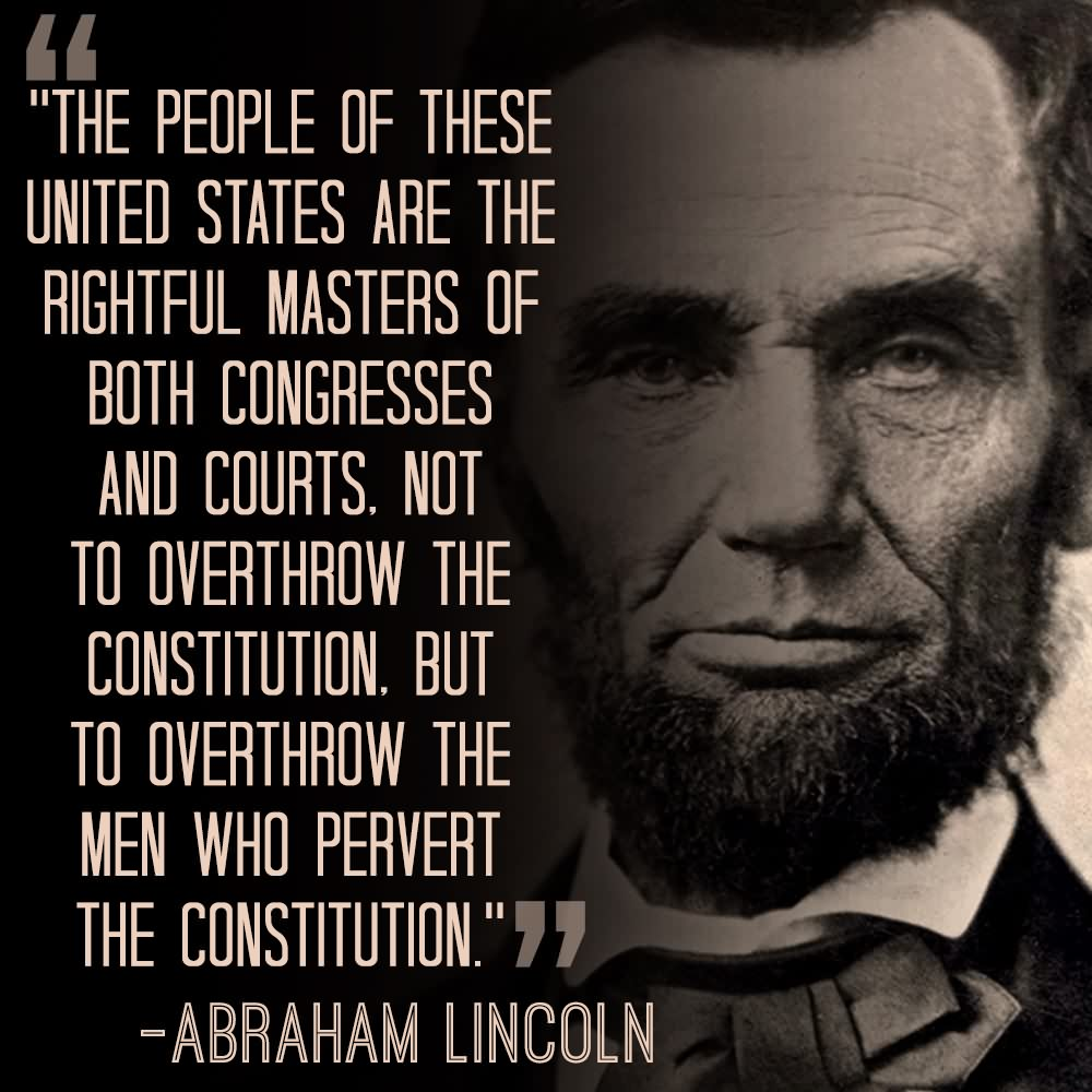 145 @ Abraham Lincoln Quotes August