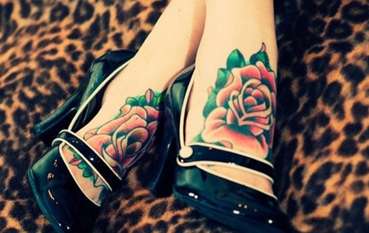 145 @ Rose Tattoos Love