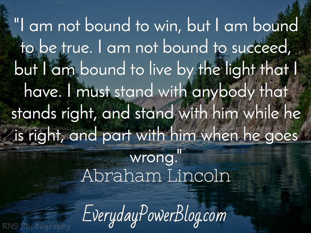 159 @ Abraham Lincoln Quotes Sunday