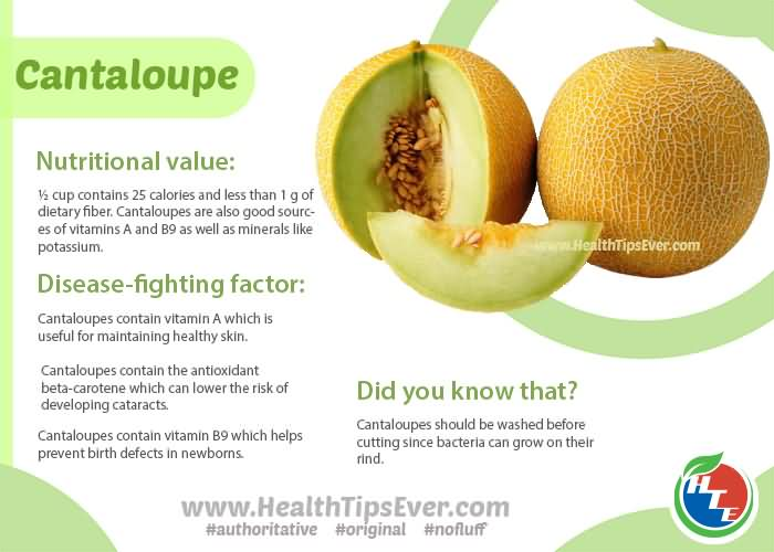 16 @ Health Benefits Of Cantaloupe