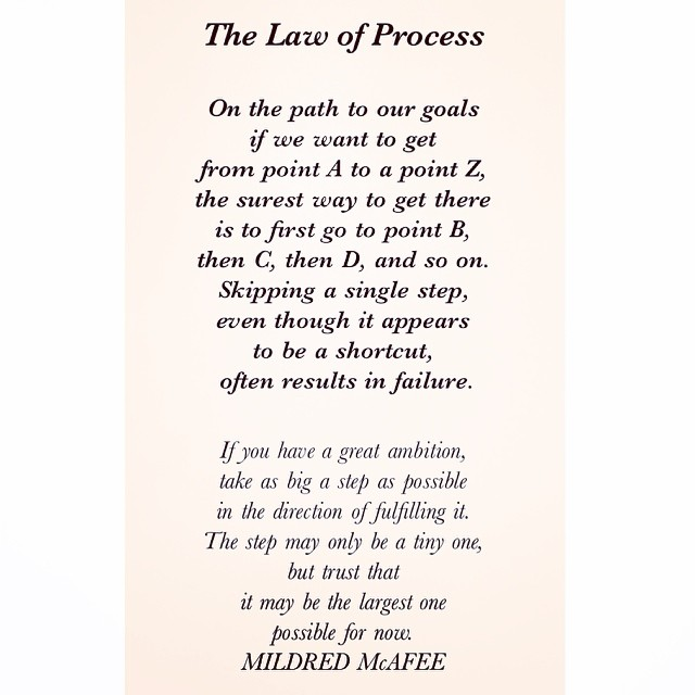 16 Universal Laws About Process