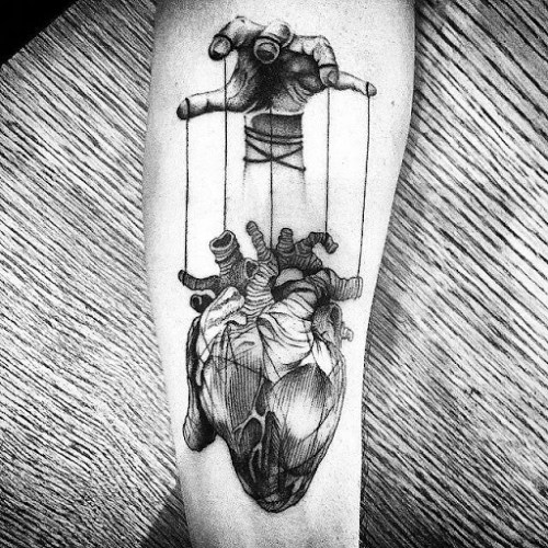 163 @ Heart Tattoos March