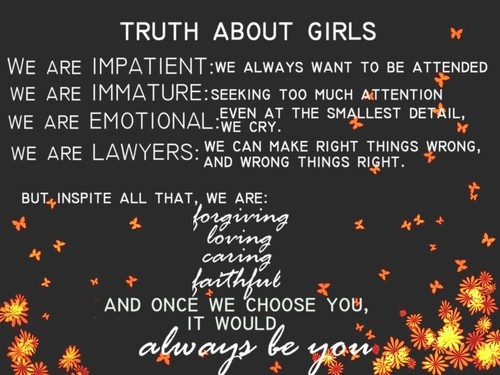 165 @ Girl Quotations and Quotes