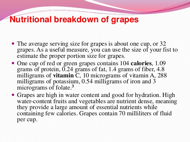 17 @ Health Benefits Of Grapes
