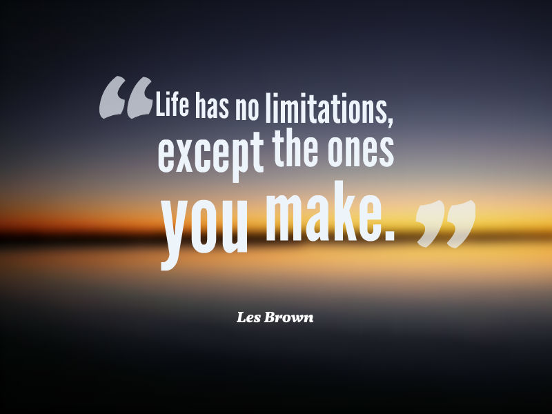 19 @ Les Brown Sayings
