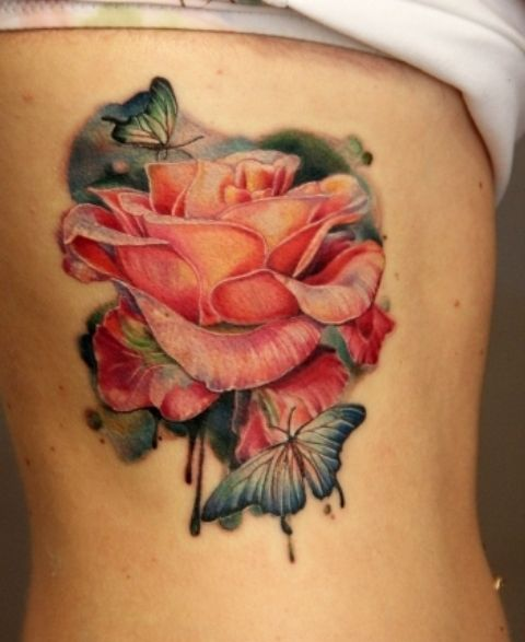 19 @ Rose Tattoos Designs