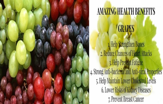20 @ Health Benefits Of Grapes