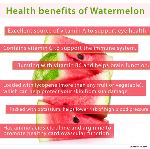 20 @ Health Benefits Of Watermelon
